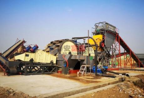锤式制砂生产线(水冲式)